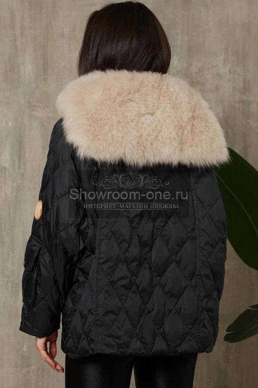 Стильный пуховик женский Канада Гус