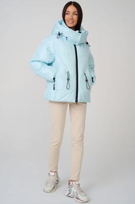 Зимний пуховик fendi с меховыми карманами