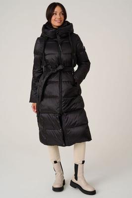 Меховая куртка-парка Канада Гус черного цвета