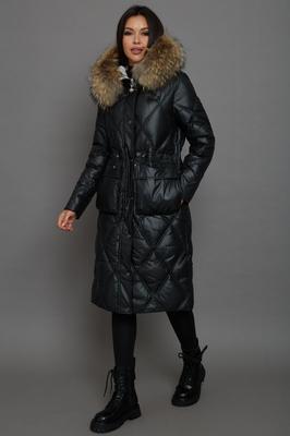Молодежное пальто для девушек осеннее розовое